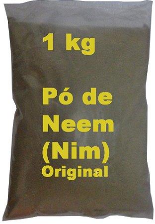 Pó Da Folha Neem Nim Azadiractha Índica Fino Puro Original 1 Kg