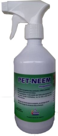 Pet - Neem - Repelente Neem Pronto Uso Spray 500 ml Com óleo de Neem e Citronela