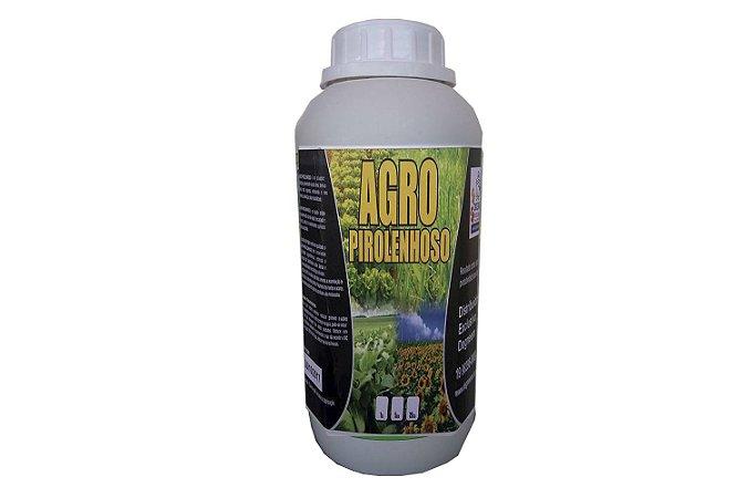 Extrato Pirolenhoso Fertilizante Enraizador Fumaça Liquida - Defensivo Agro Pirolenhoso 1 L