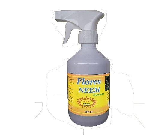 Flores Neem Spray com citronela Pronto uso - 500 ml
