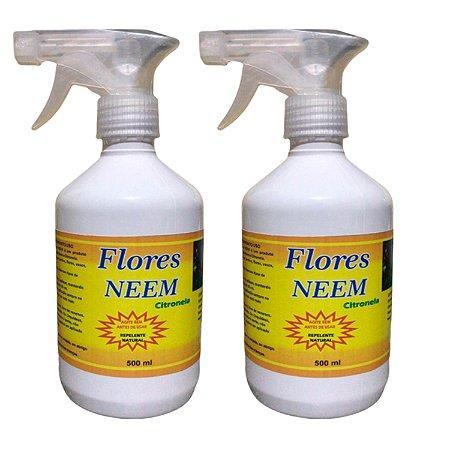 FLORES NEEM - NIM SPRAY 500 ML REPELENTE DE PRAGAS