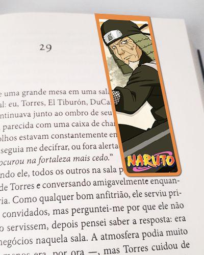 Marcador De Página Magnético Sarutobi - Naruto - MNI45