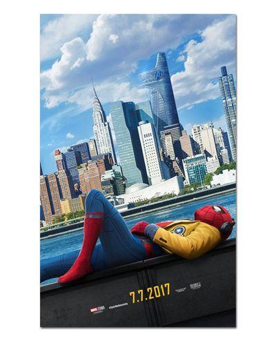 Ímã Decorativo Pôster Spider-Man Homecoming - IPF218