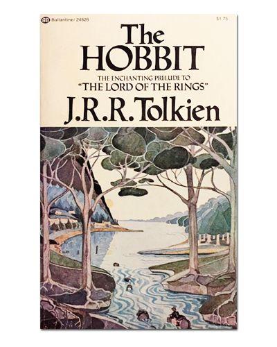 Ímã Decorativo Capa de Livro O Hobbit - ICL01