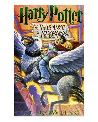 Ímã Decorativo Capa de Livro Harry Potter - ICL07