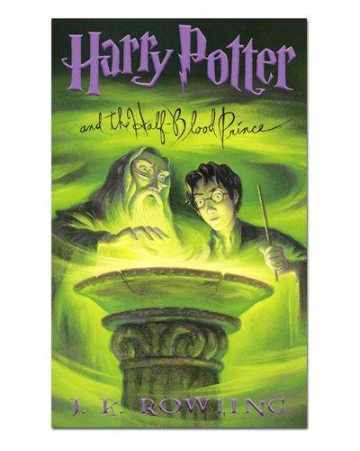 Ímã Decorativo Capa de Livro Harry Potter - ICL10