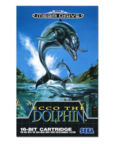 Ímã Decorativo Capa de Game - Ecco the Dolphin - ICG76