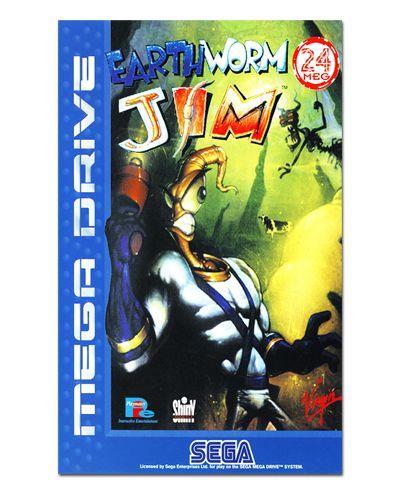 Ímã Decorativo Capa de Game - Earthworm Jim - ICG77