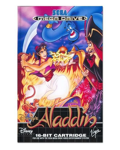 Ímã Decorativo Capa de Game - Aladdin - ICG78