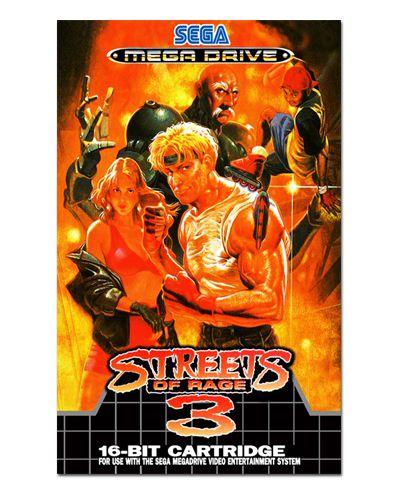 Ímã Decorativo Capa de Game - Streets of Rage 3 - ICG79