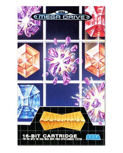 Ímã Decorativo Capa de Game - Columns - ICG80