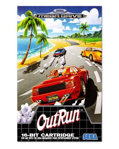 Ímã Decorativo Capa de Game - Out Run - ICG83