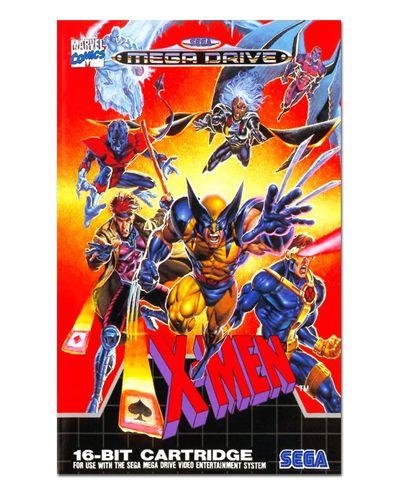 Ímã Decorativo Capa de Game - X-Men - ICG86