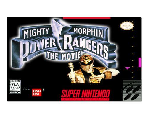 Ímã Decorativo Capa de Game - Power Rangers - ICG91