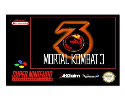 Ímã Decorativo Capa de Game - Mortal Kombat 3 - ICG94