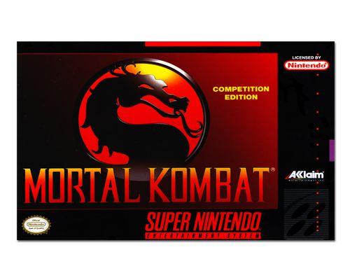 Ímã Decorativo Capa de Game - Mortal Kombat - ICG95