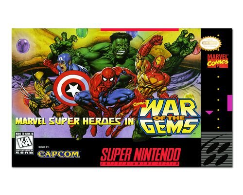 Ímã Decorativo Capa de Game - War of the Gems - ICG104