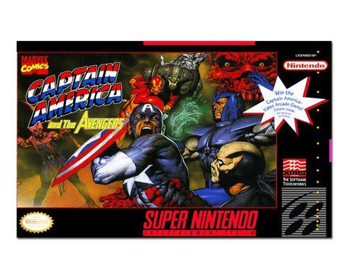 Ímã Decorativo Capa de Game - Capitão América e Vingadores - ICG105