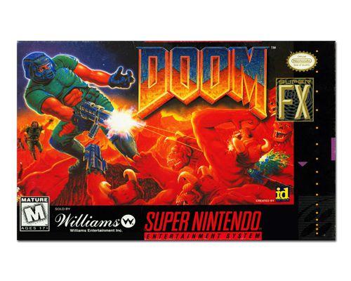 Ímã Decorativo Capa de Game - Doom - ICG112