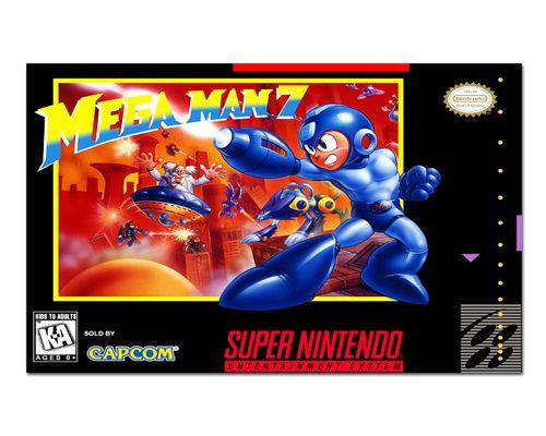 Ímã Decorativo Capa de Game - Mega Man 7 - ICG120