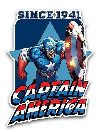 Ímã Deluxe Capitão América - Since Marvel - IMS01