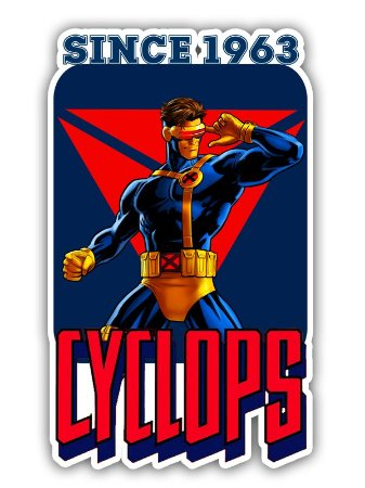 Ímã Deluxe Ciclope - Since Marvel - IMS03
