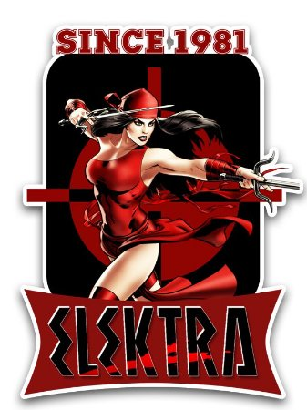 Ímã Deluxe Elektra - Since Marvel - IMS06