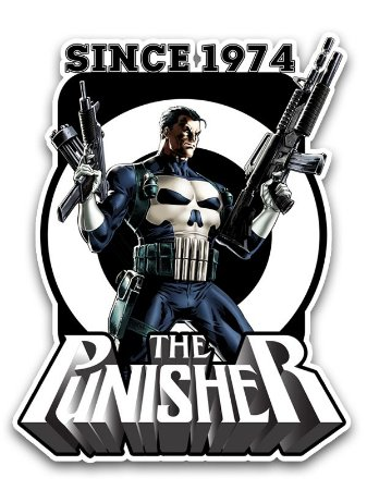 Ímã Deluxe Justiceiro - Since Marvel - IMS12