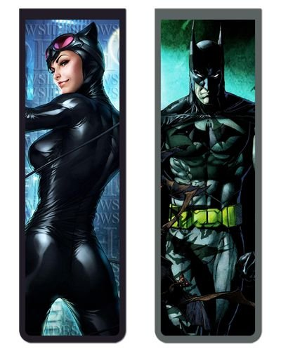 Pack Marcador Magnético - Batman e Catwoman - PKN42