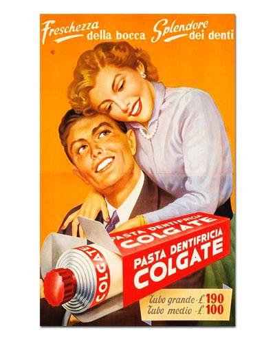 Ímã Decorativo Publicidade Pasta de Dente - Vintage - IPV17