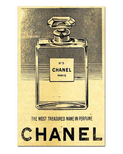 Ímã Decorativo Publicidade Perfume - Vintage - IPV18