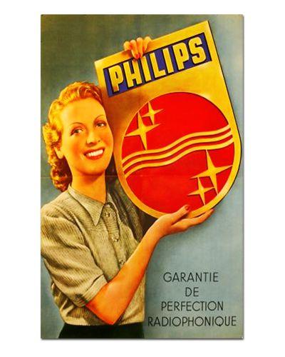 Ímã Decorativo Publicidade Eletrônicos - Vintage - IPV19