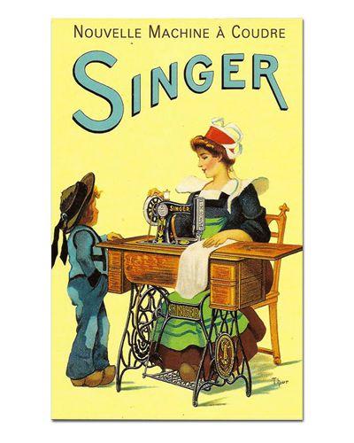 Ímã Decorativo Publicidade Máquinas - Vintage - IPV23