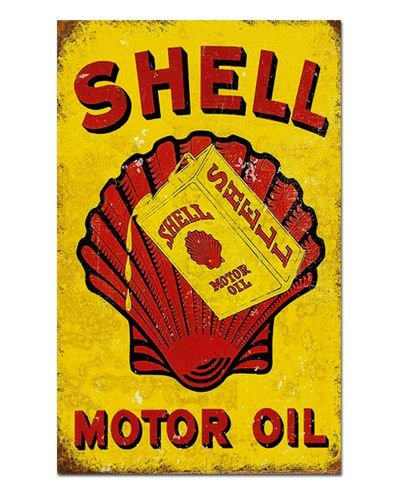 Ímã Decorativo Publicidade Combustível - Vintage - IPV26