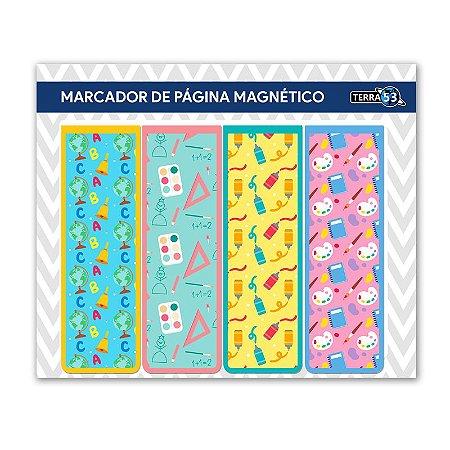 Pack Marcador de Página Magnético Escolar - School - KIE01