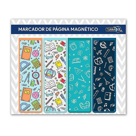 Pack Marcador de Página Magnético Escolar - School - KIE07