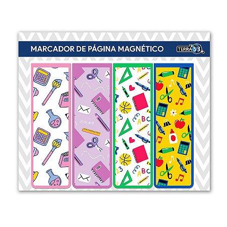 Pack Marcador de Página Magnético Escolar - School - KIE10