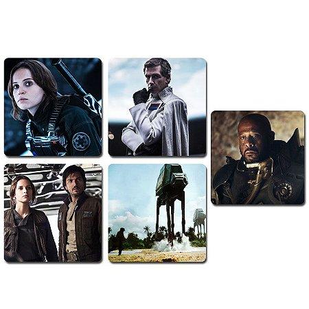 Ímãs Decorativos Star Wars Rogue One - Série 2