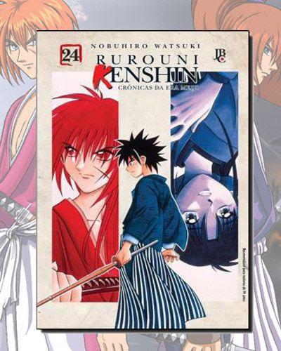 Rurouni Kenshin (Samurai X) - Crônicas Da Era Meiji - Vol 24
