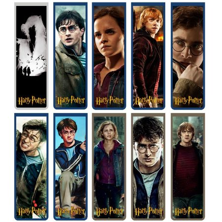 Marcador De Página Magnético Básico - Harry Potter Série 1