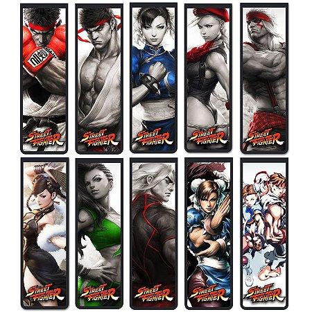 Marcador De Página Magnético Street Fighter - Série 1