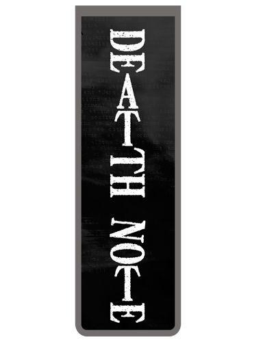 Marcador De Página Magnético Death Note - DN11