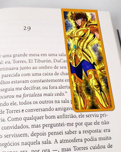Marcador De Página Magnético Aiolia - Cavaleiros do Zodíaco - CDZ01