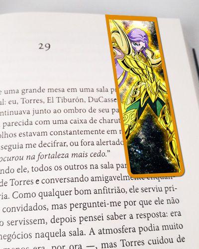 Marcador De Página Magnético Mú - Cavaleiros do Zodíaco - CDZ16