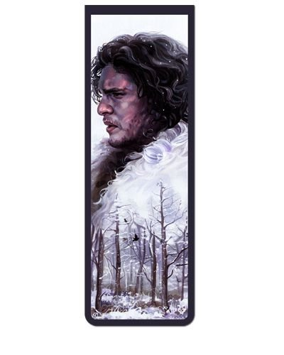 Marcador De Página Magnético Jon Snow - Game of Thrones - GOT05