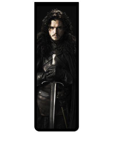 Marcador De Página Magnético Jon Snow - Game of Thrones - GOT16
