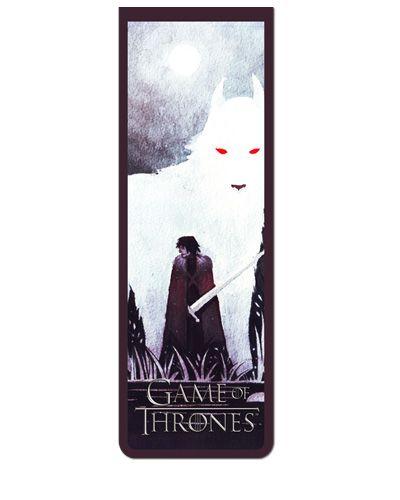 Marcador De Página Magnético Jon Snow - Game of Thrones - GOT18