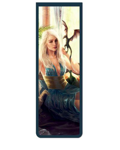 Marcador De Página Magnético Daenerys - Game of Thrones - GOT24