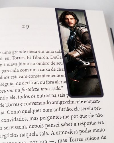 Marcador De Página Magnético Jon Snow - Game of Thrones - GOT27
