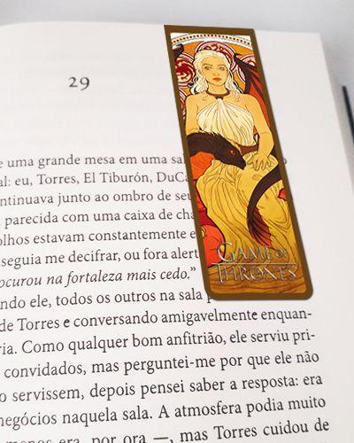 Marcador De Página Magnético Daenerys - Game of Thrones - GOT32